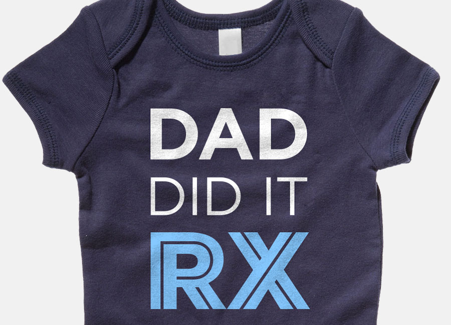 Dad Did It RX - Fitness Onesie